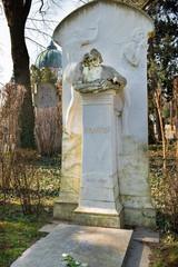 Johannes Brahms - Grab auf dem Zentralfriedhof   Wien