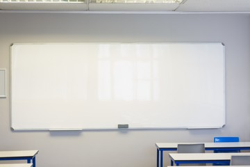Empty classroom in the college