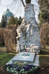 Johann Strauss - Grab auf dem Zentralfriedhof | Wien