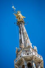 """Duomo Milan - """"Madonnina"""" detail"""