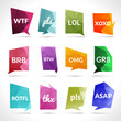 Acronyms Speech Bubbles