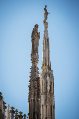 Duomo Milan - steeple detail