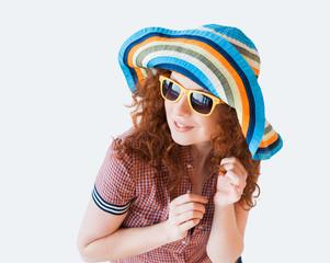 Summer girl portrait