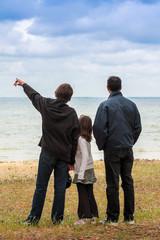 promenade avec le père