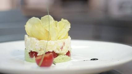 Feta And Cherry Tomato Dish