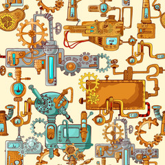 Industrial Machines Seamless