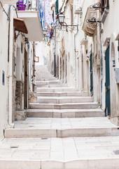Street in Vieste, Puglia, Italy © kite_rin