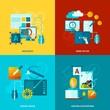 Zdjęcia na płótnie, fototapety, obrazy : Graphic Design Icons Flat