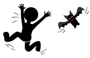 escape of bat