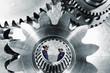 engineers and cogwheels machinery