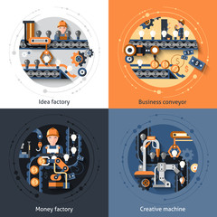 Business Conveyor Set