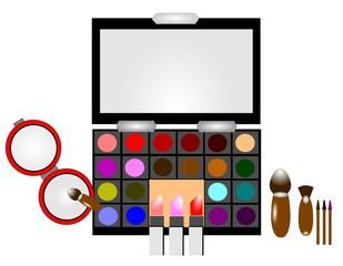 ladies makeup kit