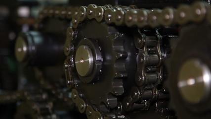 Chain mechanism.