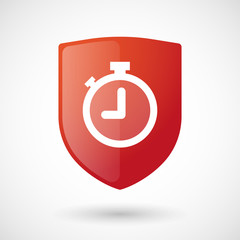 Shield icon with a timer