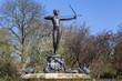 Leinwanddruck Bild - Artemis Fountain in Hyde Park