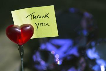 """handwritten """"Thank You"""""""