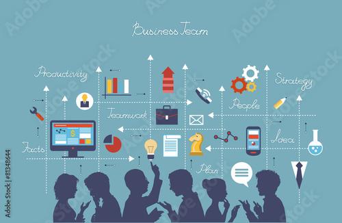 business team - 81348644