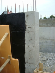 Foundation of a House