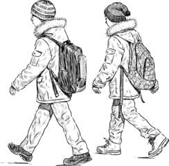 junior schoolchildren