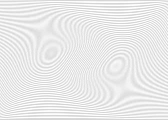 Horizontal lines / stripes pattern or background with wavy, curv