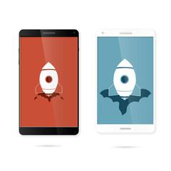Smart rocket phone