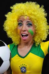female soccer fans