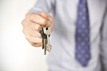 Agent showing home keys