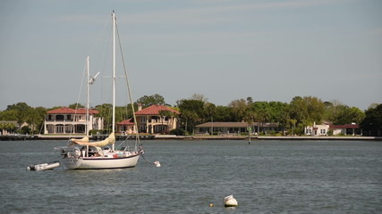 Yachts near Saint Augustine, Florida