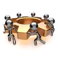 Team work cooperation business process efficiency teamwork