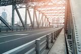 Road on the bridge