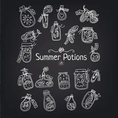 Лето в бутылке чб