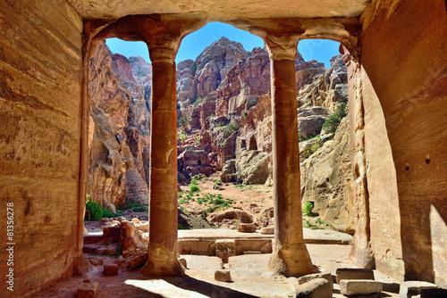Foto op Aluminium Midden Oosten Petra, Jordan