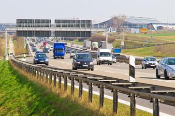 Autobahn A 8 - Messes Stuttgart