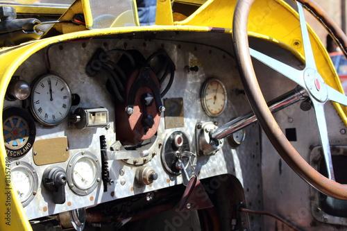 Plagát vintage car