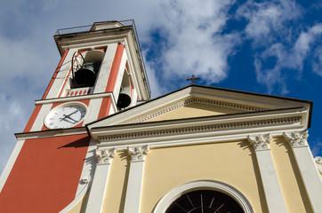 Church in Bargone in Liguria