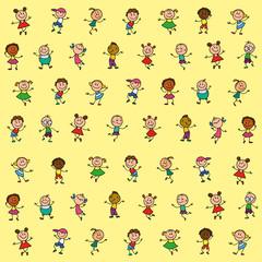 background children