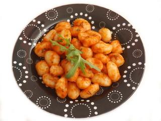 Gnocchisv in Tomatensauce