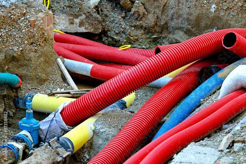 Leinwanddruck Bild New pipes
