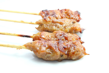 pork grilled skewer