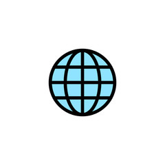 Globe - Thickly Colorful icon