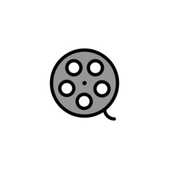Film Reel - Thickly Colorful icon
