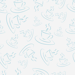 Pattern with cups