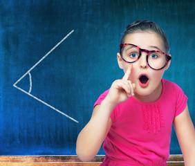 girl schoolgirl costs about Chalkboard