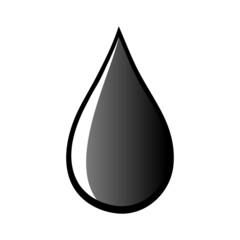 oil water petroleum black drops