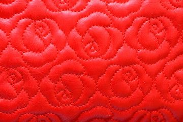 abstract pattern red leather