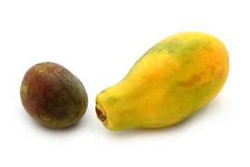 Maracuja mit Papaya