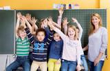 Fototapety Freude in der Schule