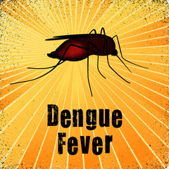 Mosquito, Dengue Fever, heath care, medical, gold ray grunge