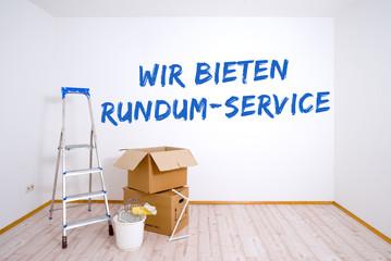 Wir bieten Rundum-Service