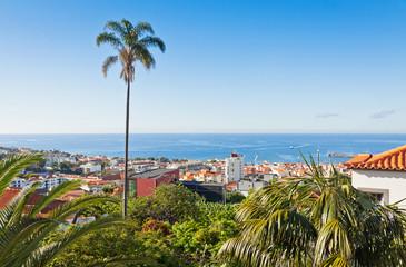 Funchal city, Madeira island, Portugal